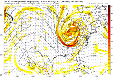 500 mb Pattern for Wed